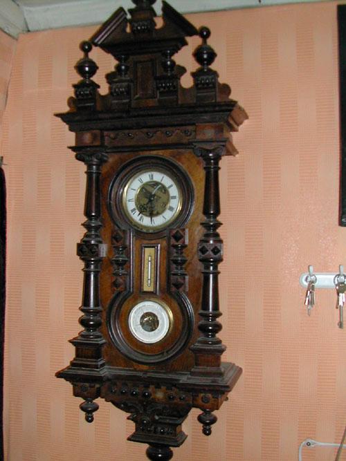 Купить Старинный настенный медный термометр