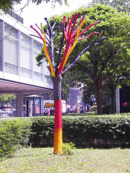 Koeln, Rudolfplatz, Hotel 'Crown Plaza'
