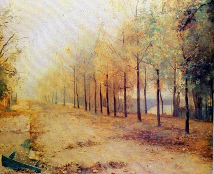 Мария Башкирцева Осень.jpg (700x570, 58Kb)