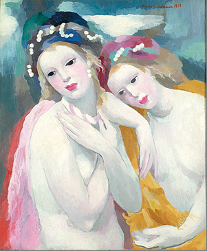 мари лорансен две сестры 1931.jpg (301x365, 60Kb)