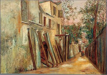 морис утрилло Улица Сан-Винсен. Ок. 1918.jpg (360x252, 70Kb)