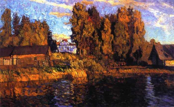 ст.жуковский осень. под вечер 1910.jpg (700x433, 44Kb)