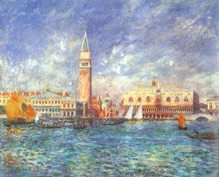 doges_palace .венеция . ренуар огюст.jpg (700x565, 210Kb)