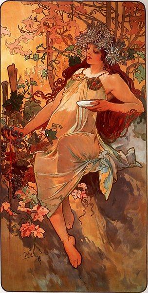 Альфонс Муха Осень  1897.jpg (304x600, 74Kb)