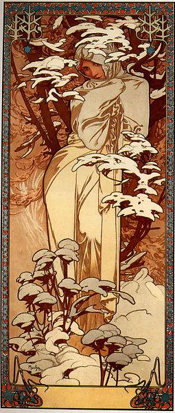 Альфонс Муха Зима 1897.jpg (255x600, 106Kb)