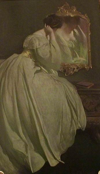 Джон Уайт Александер. 1856—1915. дама перед зеркалом.jpg (346x600, 26Kb)