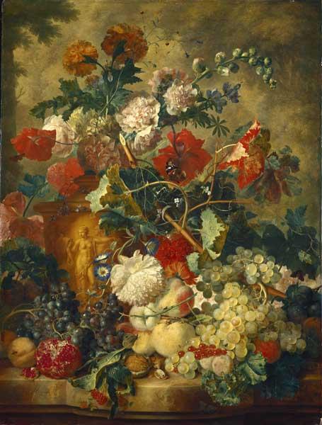 Ян ван Хейсум Цветы и плоды.jpg (455x600, 42Kb)