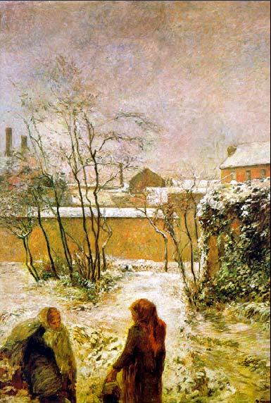 Поль Гоген  сад в снегу 1883.jpg (385x572, 58Kb)