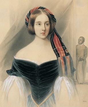 Портрет Натальи Николаевны Пушкиной. 1841.jpg (307x372, 29Kb)
