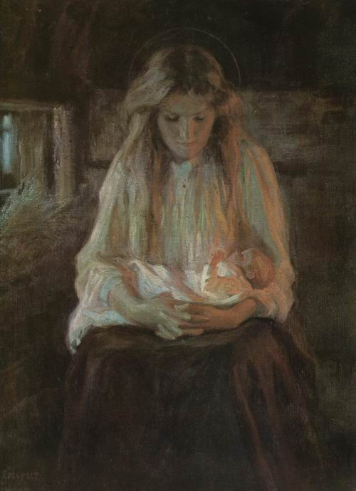 Альберт Густав Эдельфельт.мадонна с младенцем.jpg (500x690, 41Kb)