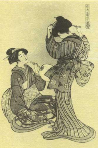 Китао Сигэмаса. Две красавицы, 1789 -1801.jpg (333x500, 38Kb)