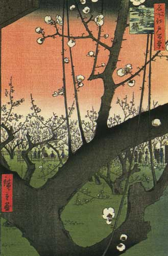 Андо Хиросигэ Сливовый сад в Камэйдо 1857.jpg (329x500, 45Kb)