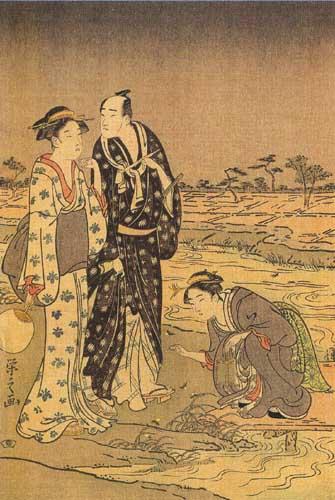 Хосода Эйси Ночная прогулка, 1790-е.jpg (335x500, 50Kb)
