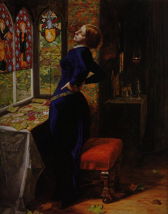 Сэр Джон Эверетт Миллес Марианна 1851.jpg (546x698, 140Kb)