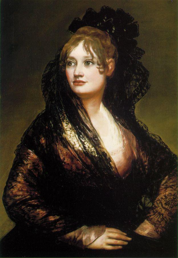 франсиско Хосе де Гойя-и-Лусьентес Isabel de Porcel 1804-05.jpg (624x902, 76Kb)