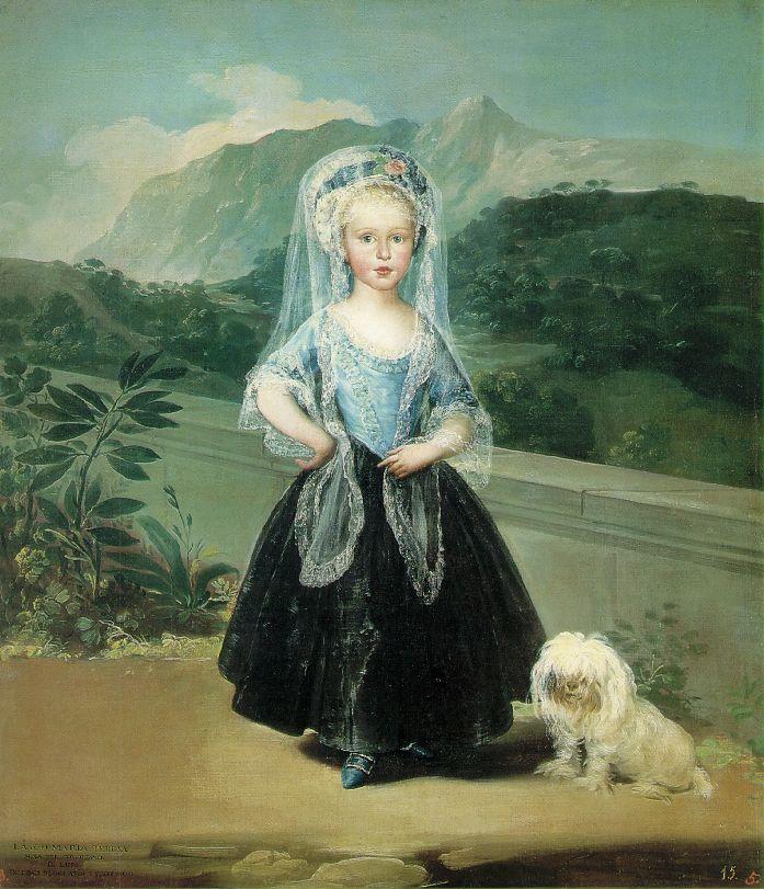 гойя Maria Teresa de Borbon y Vallabriga 1783.jpg (697x811, 109Kb)