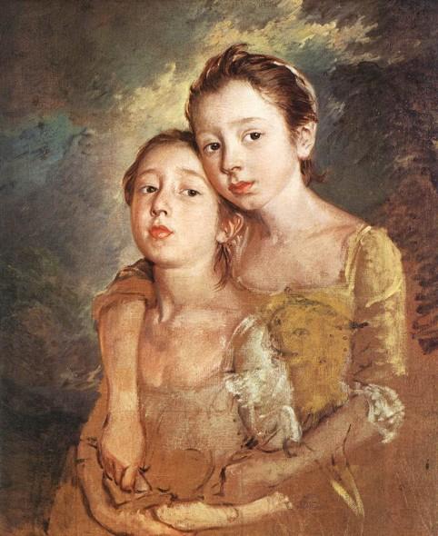 Гейнсборо Томас Дочери художника 1759-61.jpg (482x590, 96Kb)