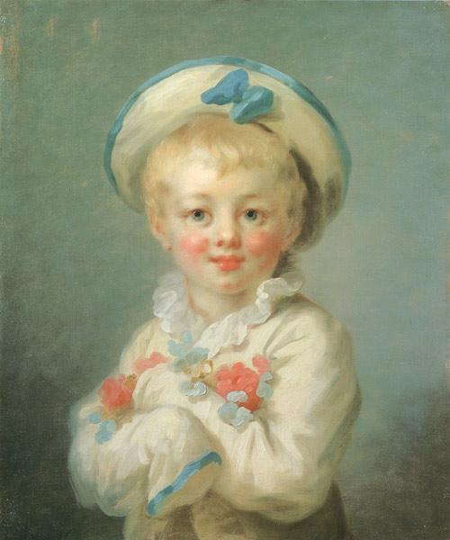 Фрагонар Жан-Оноре мальчик в роли Пьеро.jpg (500x600, 63Kb)