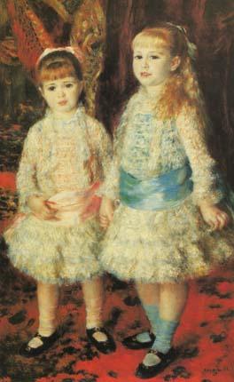 Дочери Каен д 'Анвера Розовое и голубое. 1881 ренуар.jpg (264x430, 40Kb)