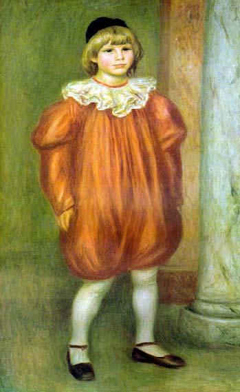 огюст ренуар. клоун 1909.jpg (349x569, 29Kb)