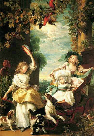 Три младшие дочери Георга III .Копли Джон Синглтон 1785.jpg (388x560, 63Kb)