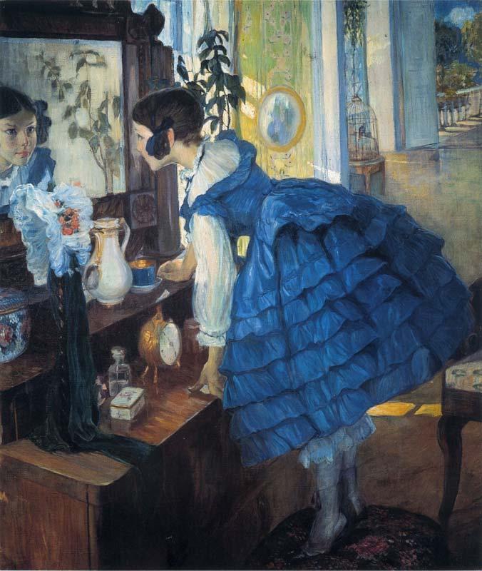 О. Л Делла-Вос-Кардовская Маленькая женщина 1909.jpg (676x800, 77Kb)