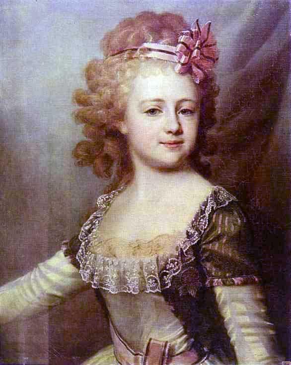 дмитрий левицкий портрет  великой княгини александры павловны в детстве  1790-е.jpg (586x736, 37Kb)