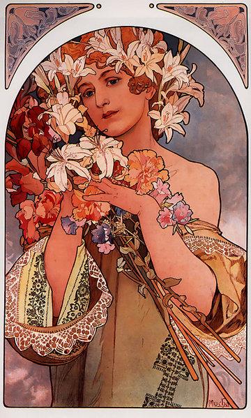 Альфонс Муха Цветы 1897.jpg (360x599, 129Kb)