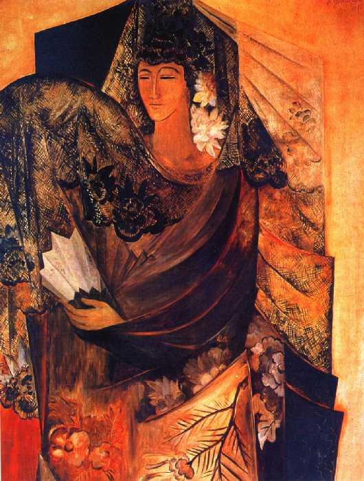 наталия гончарова Испанка 1916.jpg (530x700, 58Kb)