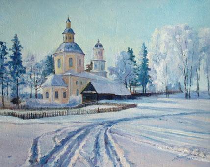Людмила Бушуева. Казанская церковь.jpg (428x342, 37Kb)