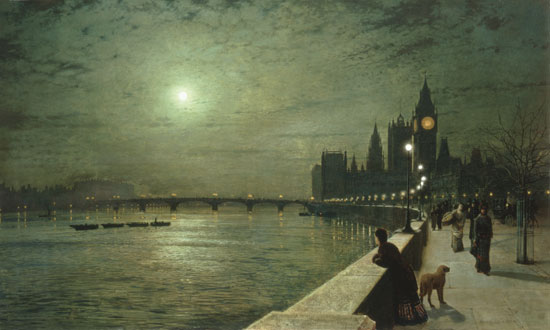 Reflections on the Thames, Westminister, John Atkinson Grimshaw.jpg (550x330, 35Kb)