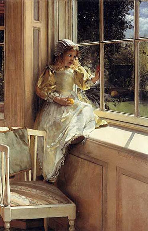 Lady Laura Teresa  Alma-Tadema .Sunshine.jpg (500x779, 166Kb)