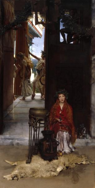 альма- тадема 1836-1912 The Way to the Temple англ..jpg (306x600, 45Kb)