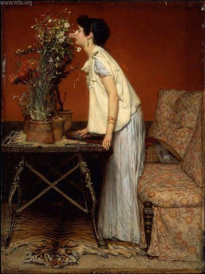 альма-тадема женщина и цветы 1868.jpg (400x535, 45Kb)