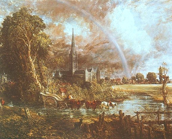 Constable Salisbury Cathedral from the Meadows 1831.jpg (578x465, 89Kb)