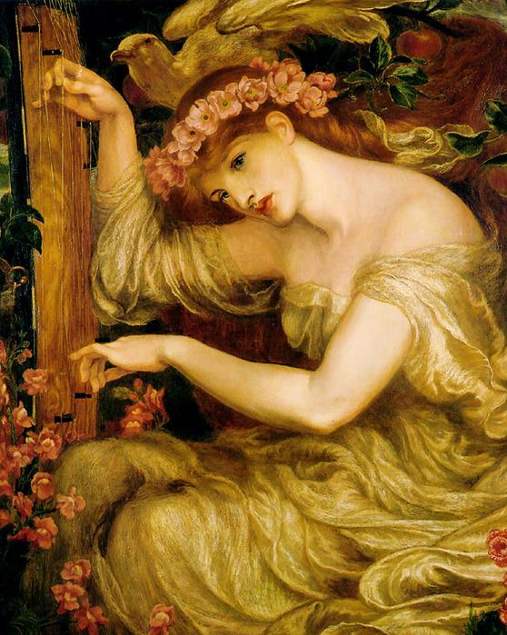 A Sea Spell, Dante Gabriel Charles Rossetti 1828-1882 англ..jpg (558x699, 223Kb)