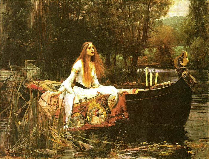 waterhouse 1849-1917 the_lady_of_shalott.jpg (700x535, 113Kb)