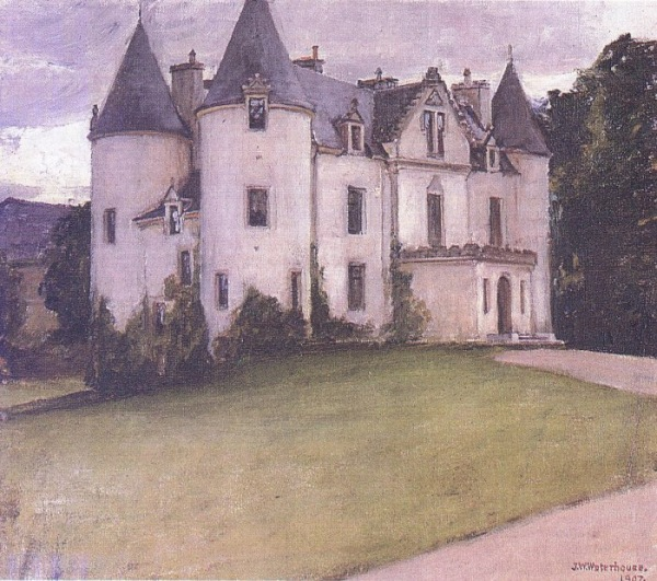 A Scottish Baronial House 1907 Waterhouse.jpg (600x531, 133Kb)