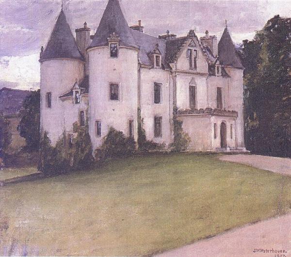 A Scottish Baronial House 1907 Waterhouse.jpg (600x531, 133Kb)