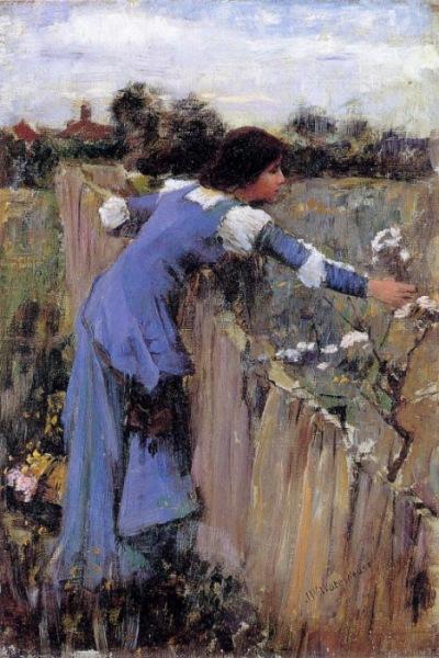 The Flower Picker John William Waterhouse 1900.jpg (400x600, 98Kb)