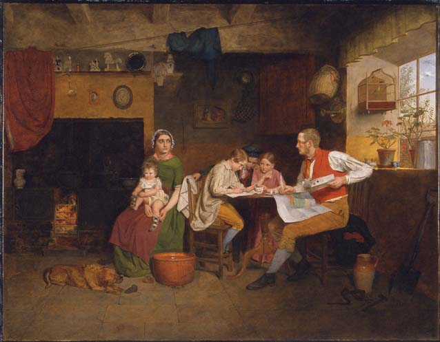 Answering the Emigrant's Letter Collinson James 1825-1881 ����..jpg (638x497, 42Kb)