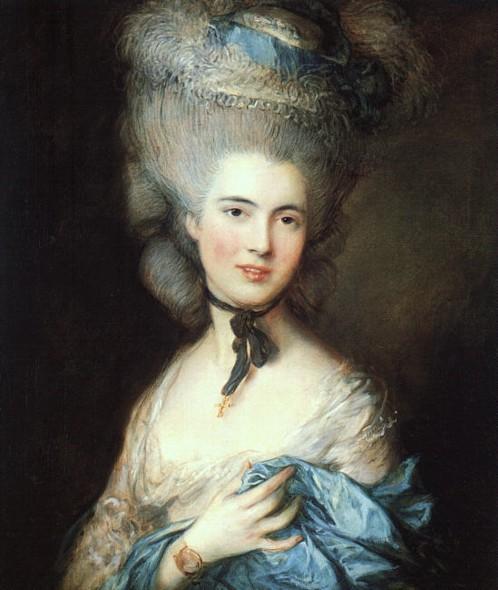 гейнсборо томас 1727-1788 Портрет дамы в голубом конец 1770-х.jpg (498x590, 69Kb)