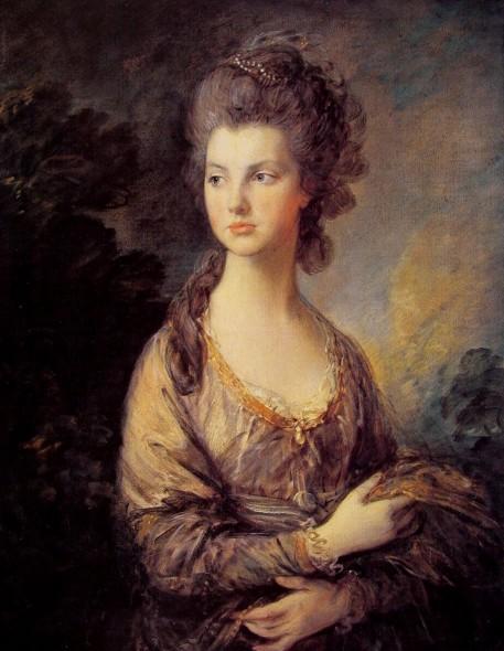 Портрет миссис Грэхем около 1775-77 Гейнсборо.jpg (457x590, 73Kb)