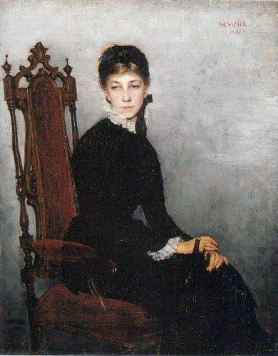 Мариа Виик Портрет Хильды Виик,1881 финл..jpg (390x500, 48Kb)