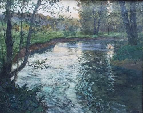 Ручей Фриц Таулов. 1847—1906. норв..jpg (500x395, 47Kb)