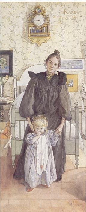 карл ларссон 1853-1919 карин и керсти 1898 швед.jpg (287x702, 40Kb)