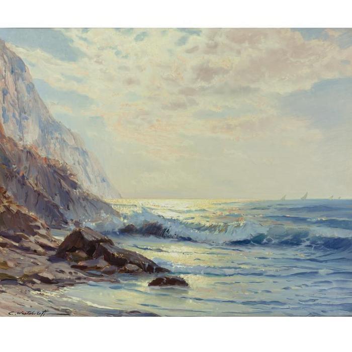 Константин Вещилов 1877-1945. Волны.jpg (700x700, 51Kb)