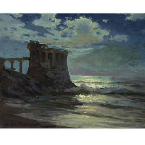 Константин Вещилов (1877-1945). Руины. Лунный свет..jpg (500x500, 30Kb)