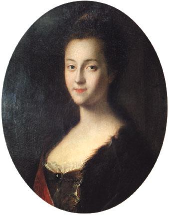 Л.Каравак Портрет великой княгини  Екатерины Алексеевны 1745.jpg (339x434, 32Kb)