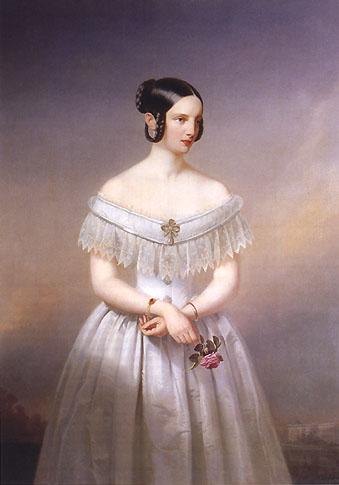 А.И.Гебенс Портрет великой княгини Александры Николаевны, дочери Николая I ,1860.jpg (339x485, 33Kb)